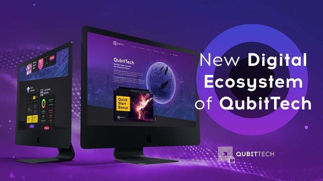 Новый дизайн qubit tech